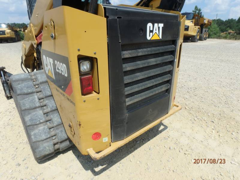 Caterpillar ÎNCĂRCĂTOARE PENTRU TEREN ACCIDENTAT 299D equipment  photo 21