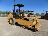 CATERPILLAR VIBRATORY SINGLE DRUM PAD CP44 equipment  photo 1