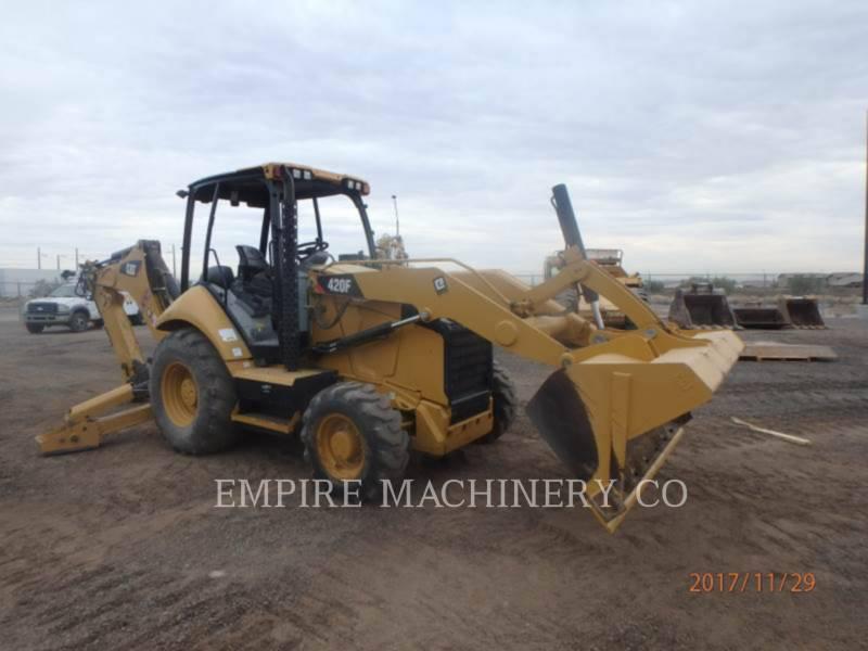 CATERPILLAR RETROESCAVADEIRAS 420F 4EO equipment  photo 1
