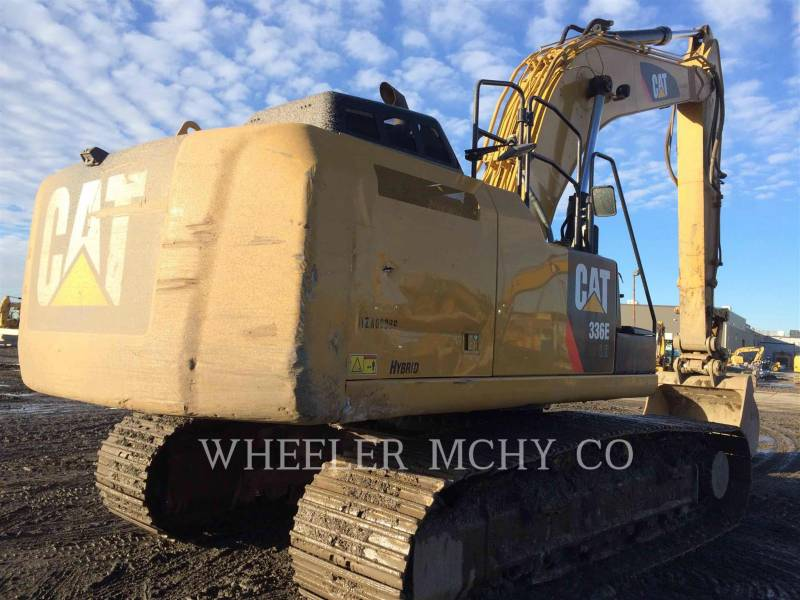 CATERPILLAR KETTEN-HYDRAULIKBAGGER 336E LH CF equipment  photo 1