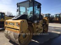 Equipment photo CATERPILLAR CD54 TRILLENDE DUBBELE TROMMELASFALTEERMACHINE 1