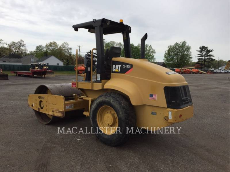 CATERPILLAR WALEC DO GRUNTU, GŁADKI CS-433E equipment  photo 4