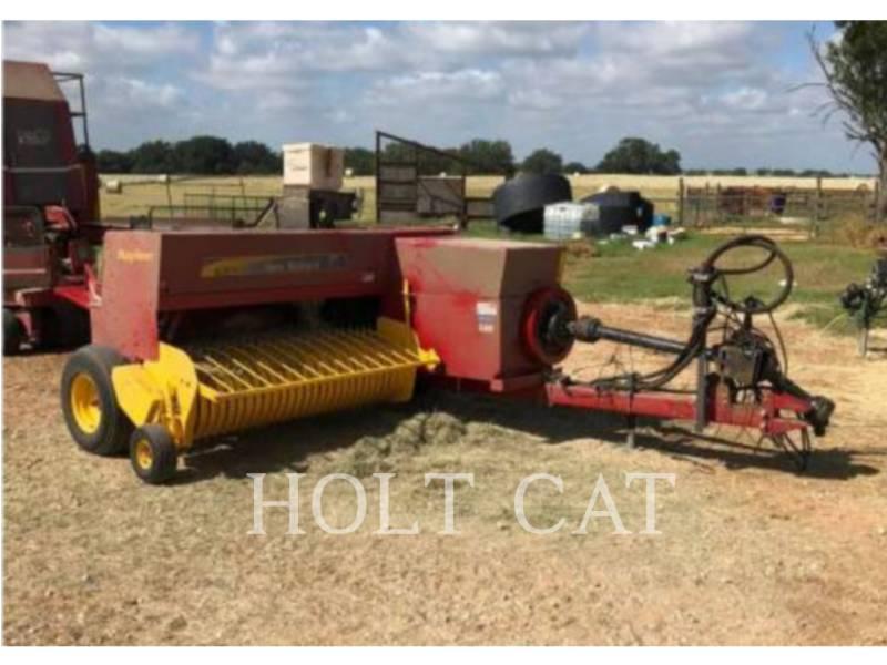 NEW HOLLAND LTD. MATERIELS AGRICOLES POUR LE FOIN BC5070 HAYLINER equipment  photo 1