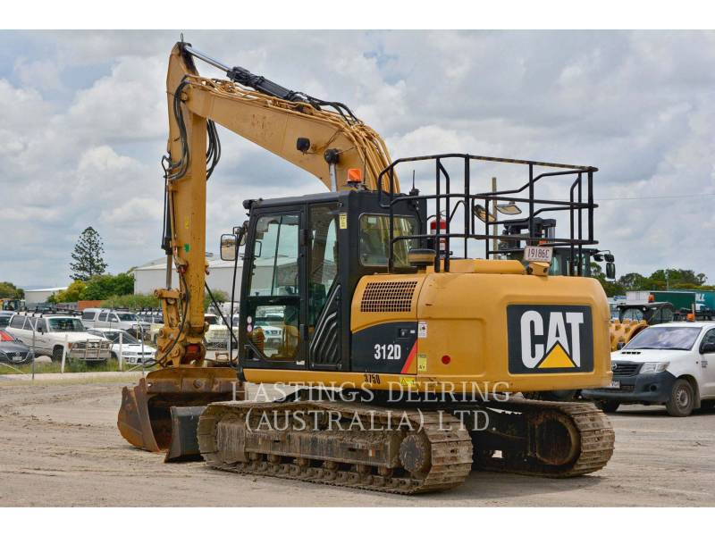 CATERPILLAR KETTEN-HYDRAULIKBAGGER 312D equipment  photo 6