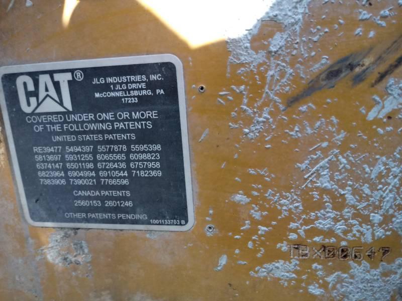 CATERPILLAR TELEHANDLER TH406 equipment  photo 2