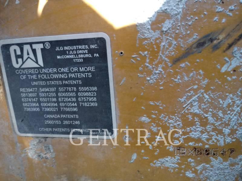 CATERPILLAR CHARGEUR À BRAS TÉLESCOPIQUE TH406 equipment  photo 1