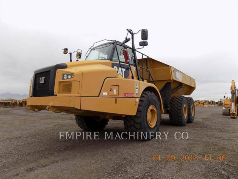 CATERPILLAR TOMBEREAUX DE CHANTIER 745C equipment  photo 4
