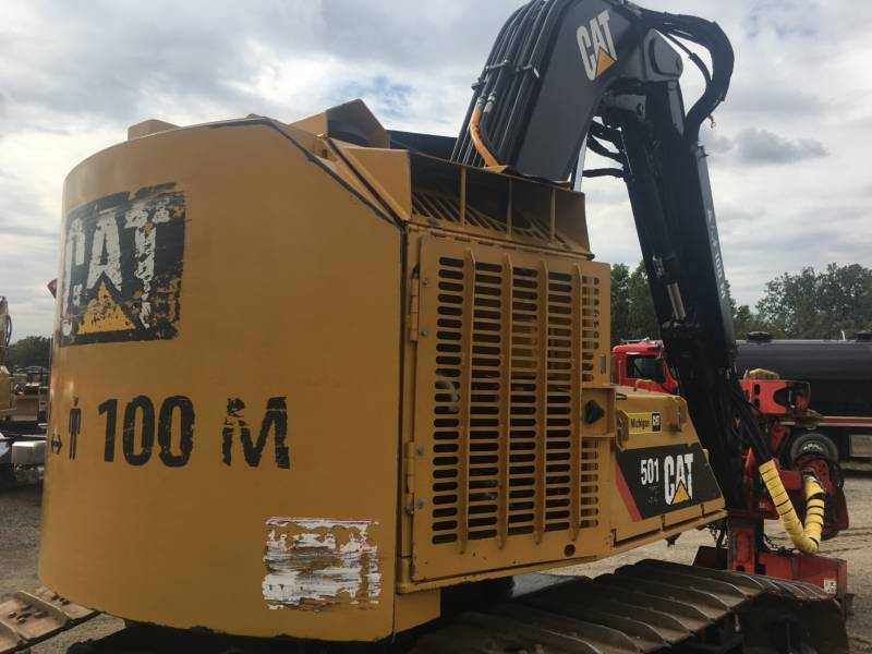 CATERPILLAR FORESTRY - FELLER BUNCHERS - TRACK 501HD equipment  photo 6