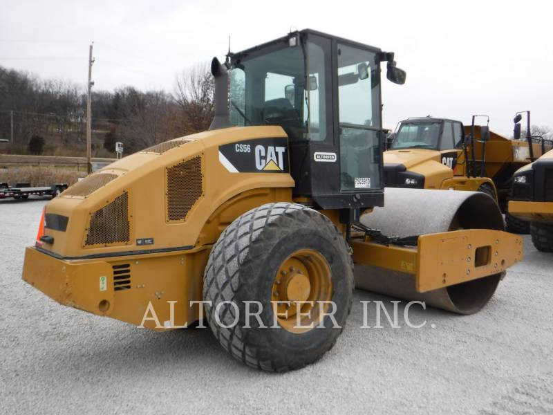 CATERPILLAR VIBRATORY SINGLE DRUM SMOOTH CS56 equipment  photo 3
