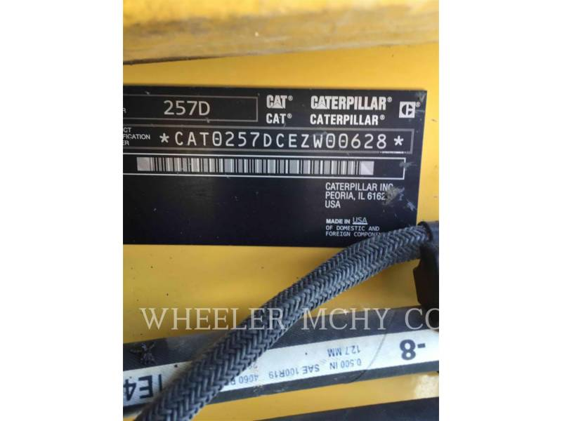 CATERPILLAR CARGADORES MULTITERRENO 257D C3-H2 equipment  photo 6