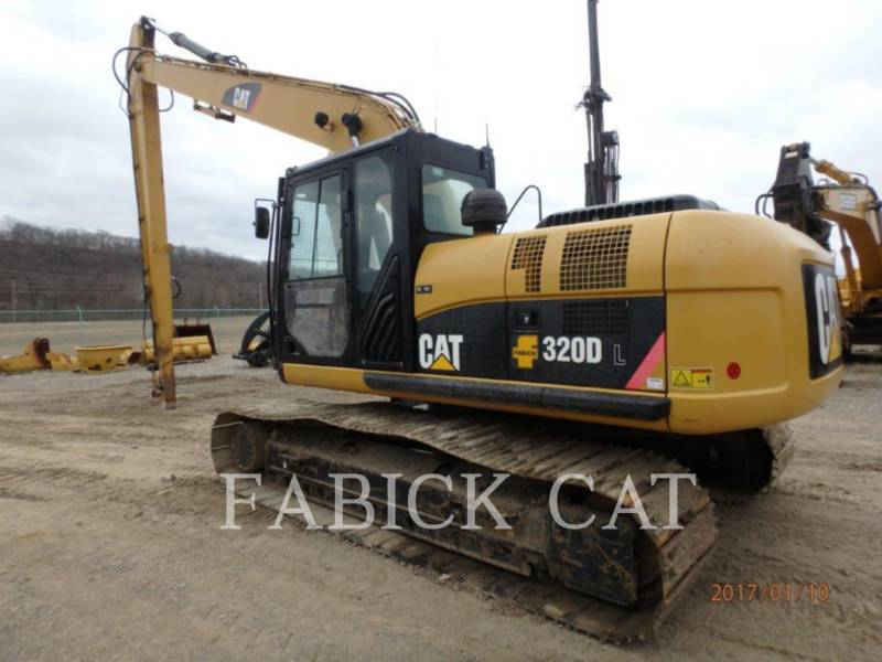 CATERPILLAR ESCAVATORI CINGOLATI 320DL equipment  photo 4