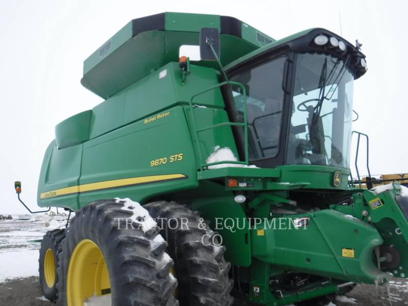 JOHN DEERE COMBINES 9870 equipment  photo 1