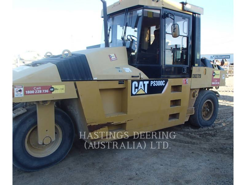 CATERPILLAR PNEUMATIC TIRED COMPACTORS PS-300C equipment  photo 8