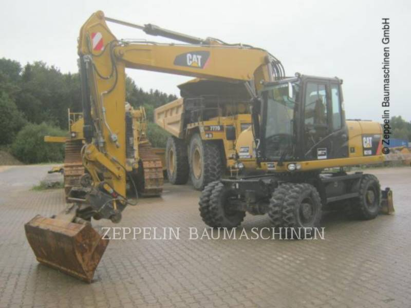CATERPILLAR PELLES SUR PNEUS M315D equipment  photo 2