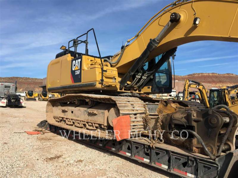 CATERPILLAR PELLES SUR CHAINES 336F L THM equipment  photo 2