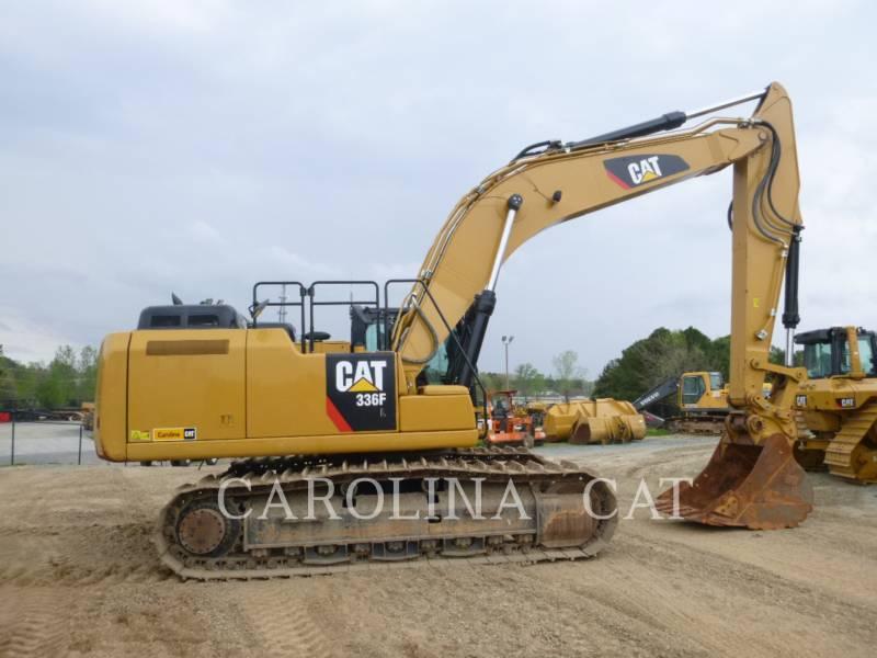 CATERPILLAR TRACK EXCAVATORS 336F QC equipment  photo 4