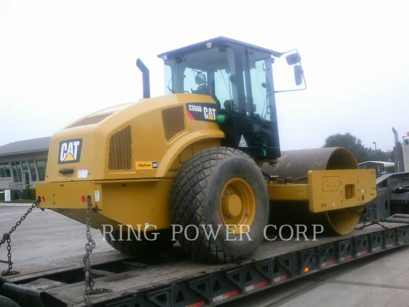 CATERPILLAR TRILLENDE ENKELE TROMMEL GLAD CS66B equipment  photo 3