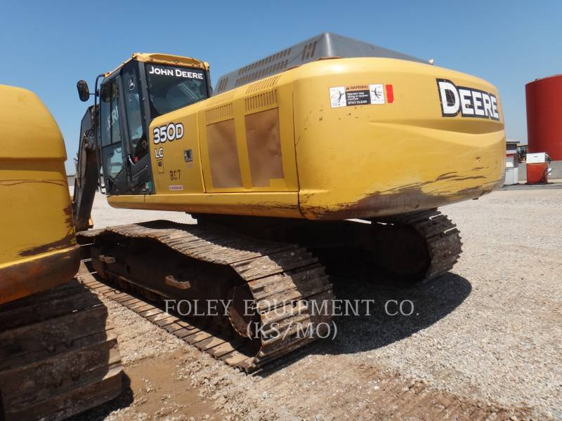DEERE & CO. TRACK EXCAVATORS 350D equipment  photo 3