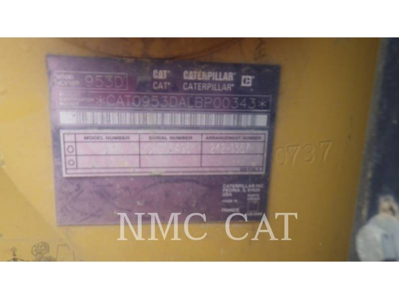 CATERPILLAR CHARGEURS SUR CHAINES 953D equipment  photo 6