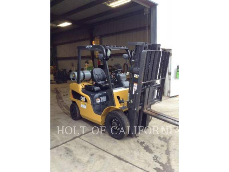 CATERPILLAR MITSUBISHI MONTACARGAS P5000 equipment  photo 2