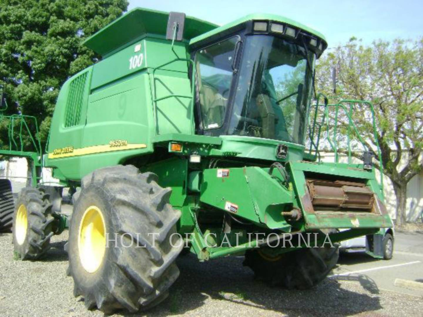 Detail photo of 2001 John Deere 9650 CTS from Construction Equipment Guide