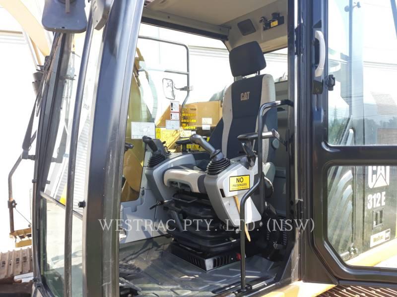 CATERPILLAR KETTEN-HYDRAULIKBAGGER 312E equipment  photo 7