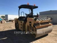 Equipment photo CATERPILLAR CB66B 振动双碾轮沥青设备 1