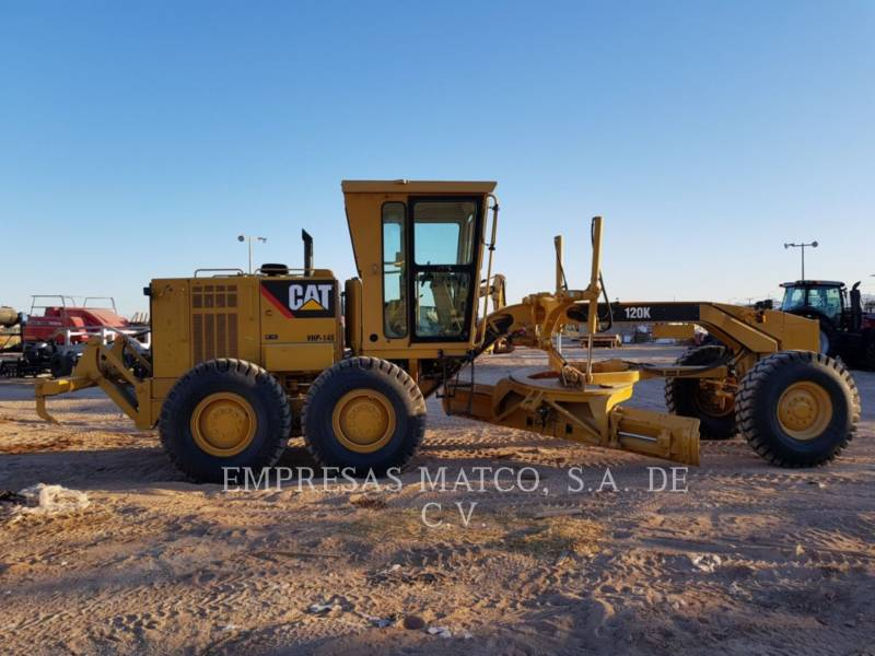 CATERPILLAR MOTOR GRADERS 120 K equipment  photo 2