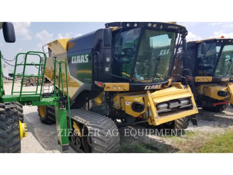 LEXION COMBINE COMBINADOS 760TT equipment  photo 8