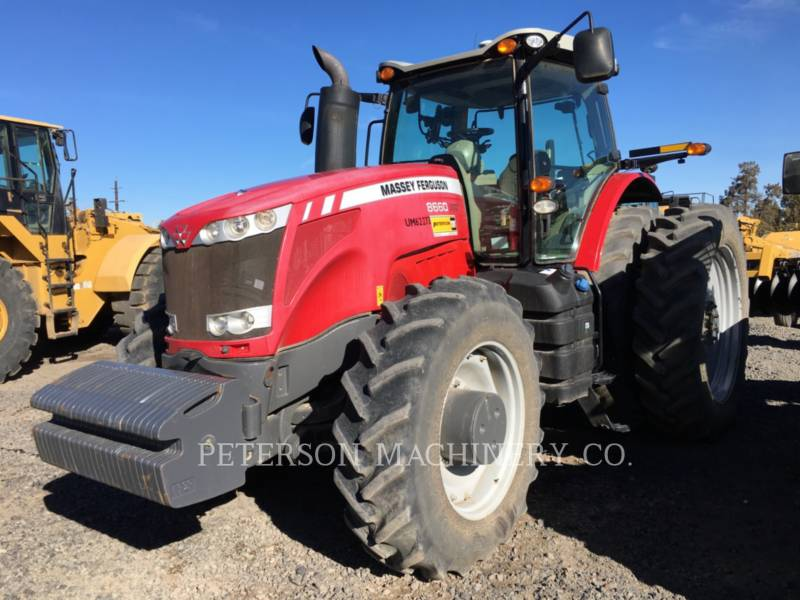 AGCO-MASSEY FERGUSON TRACTEURS AGRICOLES MF8660 equipment  photo 1