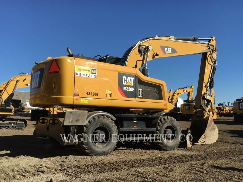 CATERPILLAR PELLES SUR PNEUS M320F equipment  photo 3