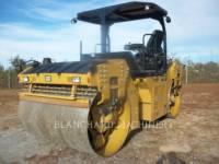 Equipment photo CATERPILLAR CB64B TANDEMOWY WALEC WIBRACYJNY DO ASFALTU (STAL-STAL) 1