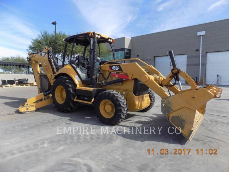 CATERPILLAR CHARGEUSES-PELLETEUSES 450F 4EOM equipment  photo 1