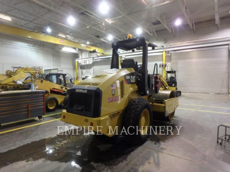 CATERPILLAR EINZELVIBRATIONSWALZE, GLATTBANDAGE CS44 equipment  photo 2