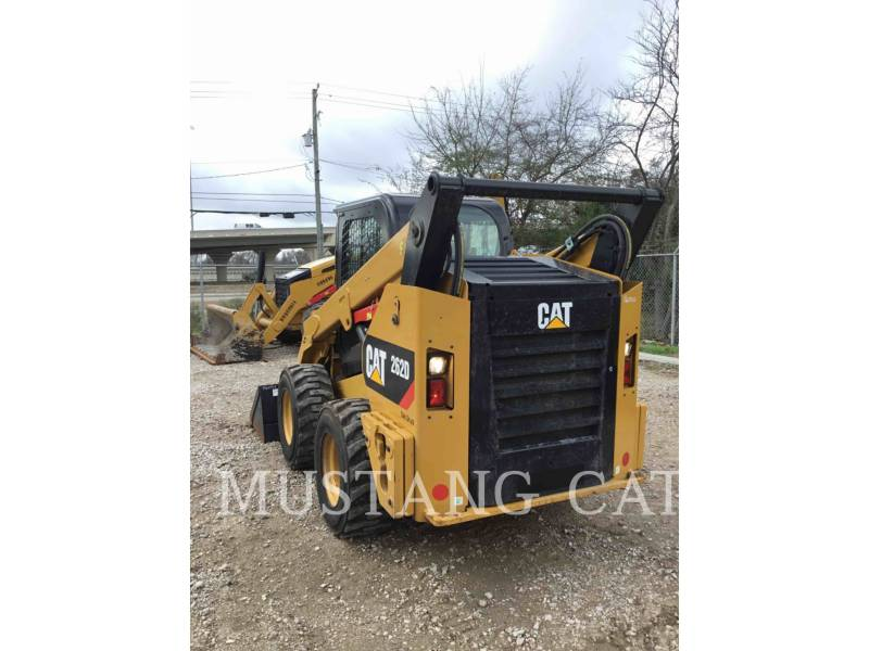 CATERPILLAR MINICARGADORAS 262D CA SF equipment  photo 4