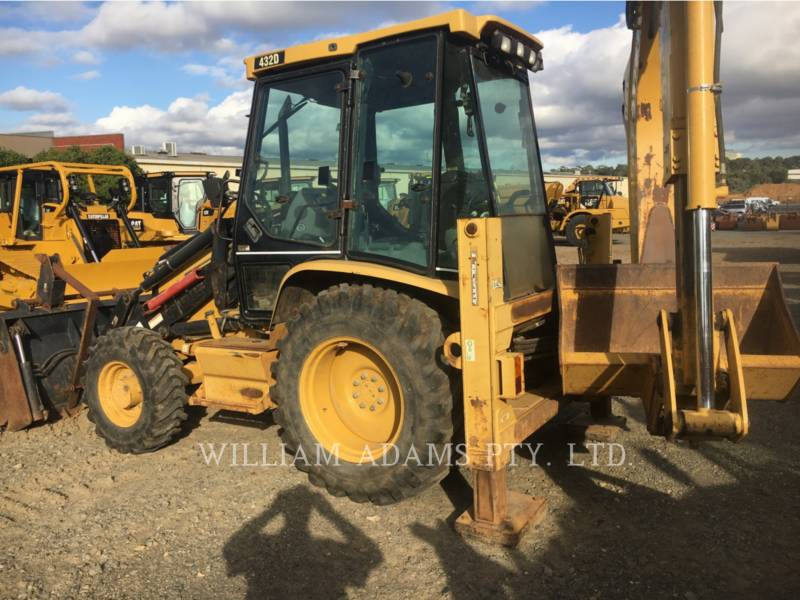 CATERPILLAR CHARGEUSES-PELLETEUSES 432 D equipment  photo 3