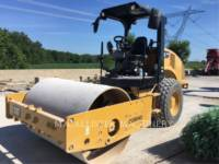 Equipment photo CATERPILLAR CS44B COMPACTEUR VIBRANT, MONOCYLINDRE LISSE 1