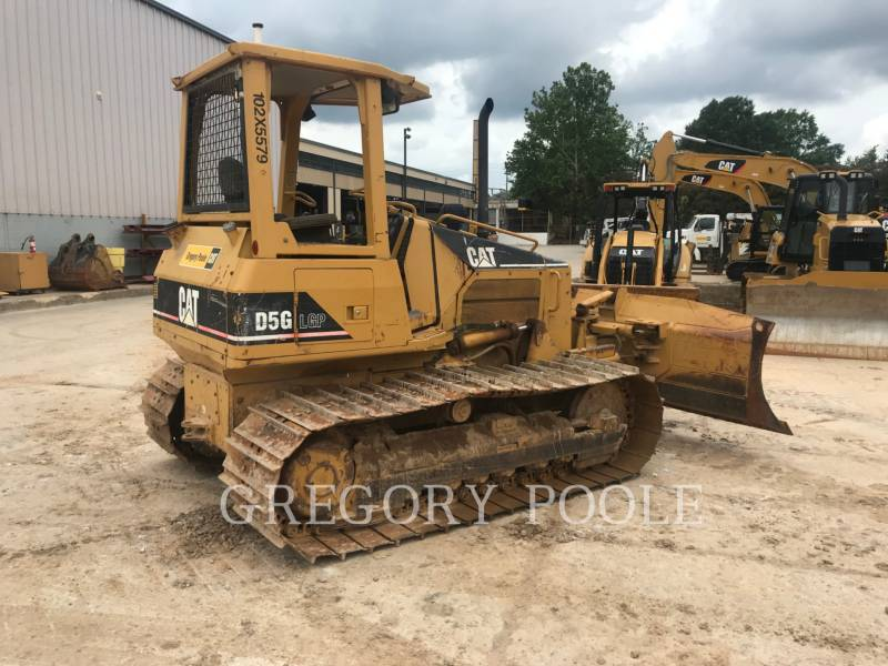 CATERPILLAR KETTENDOZER D5G LGP equipment  photo 1