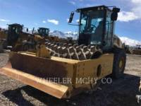 Equipment photo CATERPILLAR CP74B VIBRATORY SINGLE DRUM PAD 1