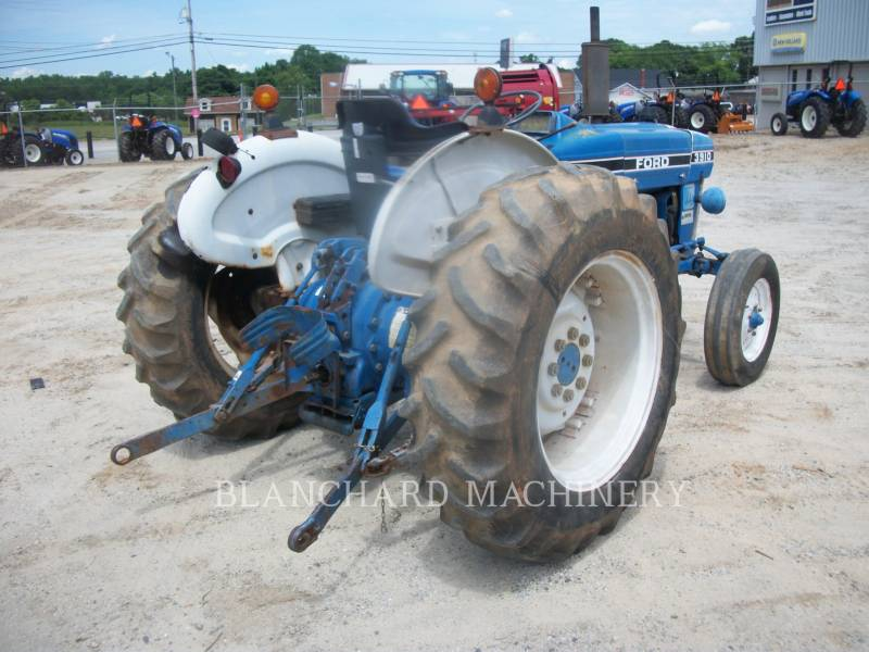 FORD AG TRACTORS 3910 equipment  photo 5