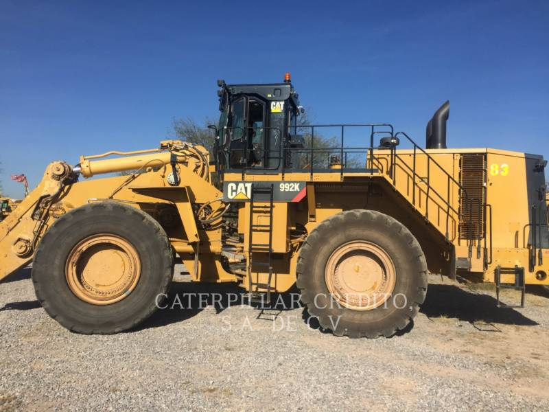 CATERPILLAR WHEEL LOADERS/INTEGRATED TOOLCARRIERS 992KLRC equipment  photo 1
