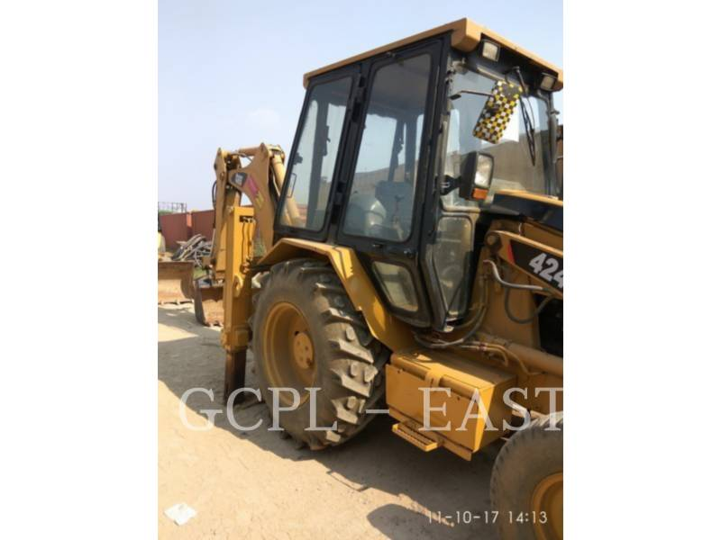 CATERPILLAR BACKHOE LOADERS 424 B equipment  photo 5