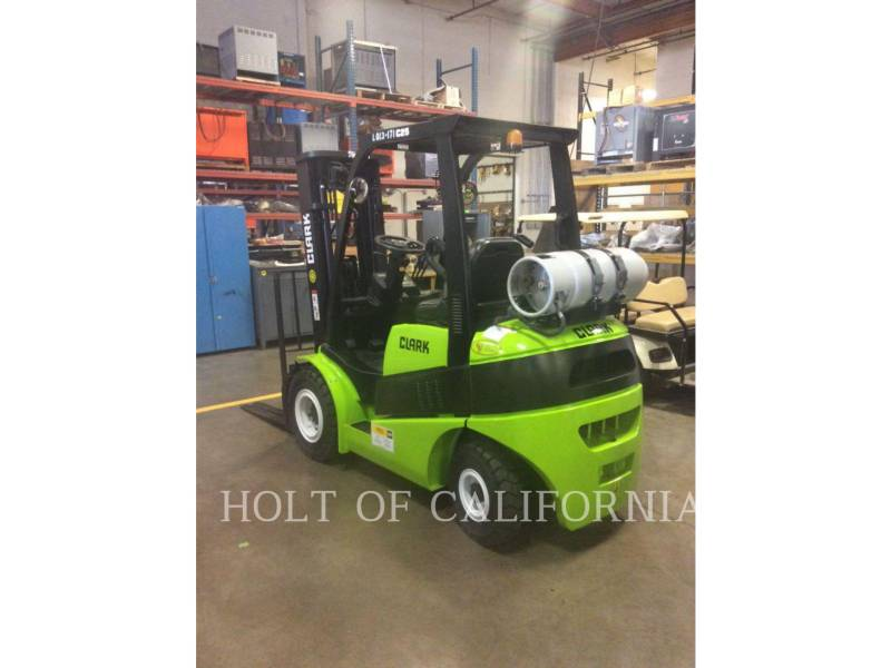 CLARK FORKLIFTS C25L equipment  photo 1