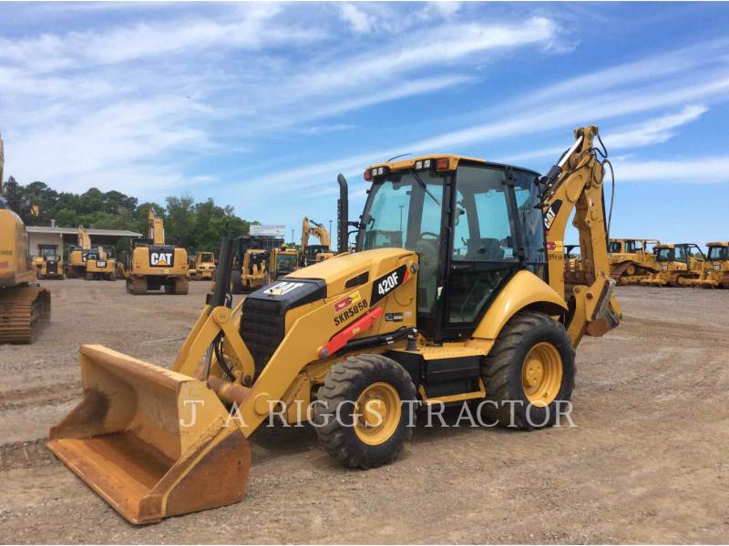 CATERPILLAR BACKHOE LOADERS 420F 4AE equipment  photo 1