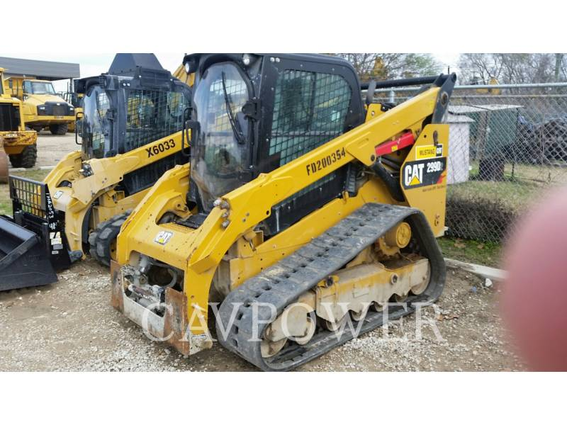 CATERPILLAR MULTI TERRAIN LOADERS 299 D equipment  photo 1