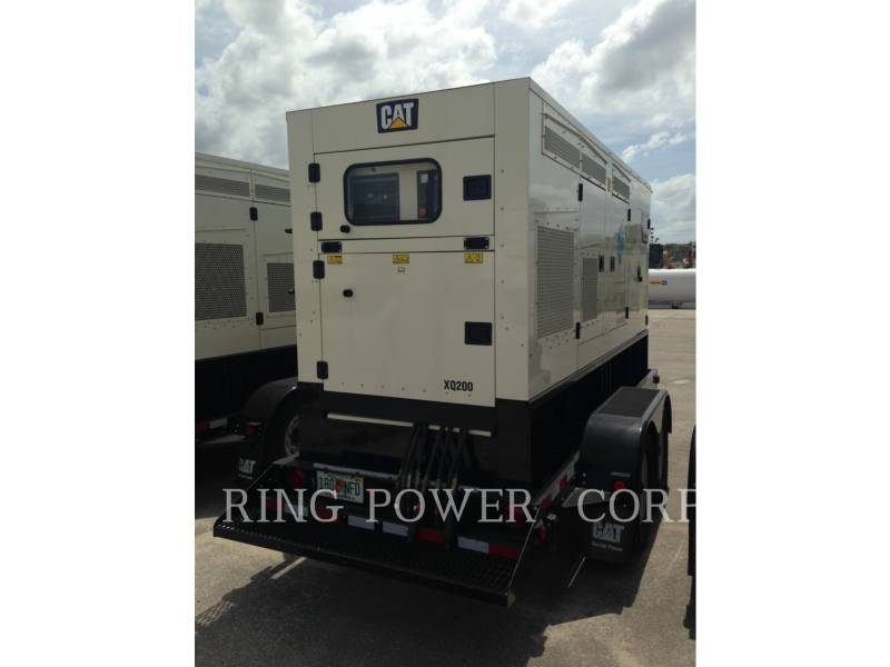 CATERPILLAR PORTABLE GENERATOR SETS XQ 200 equipment  photo 4