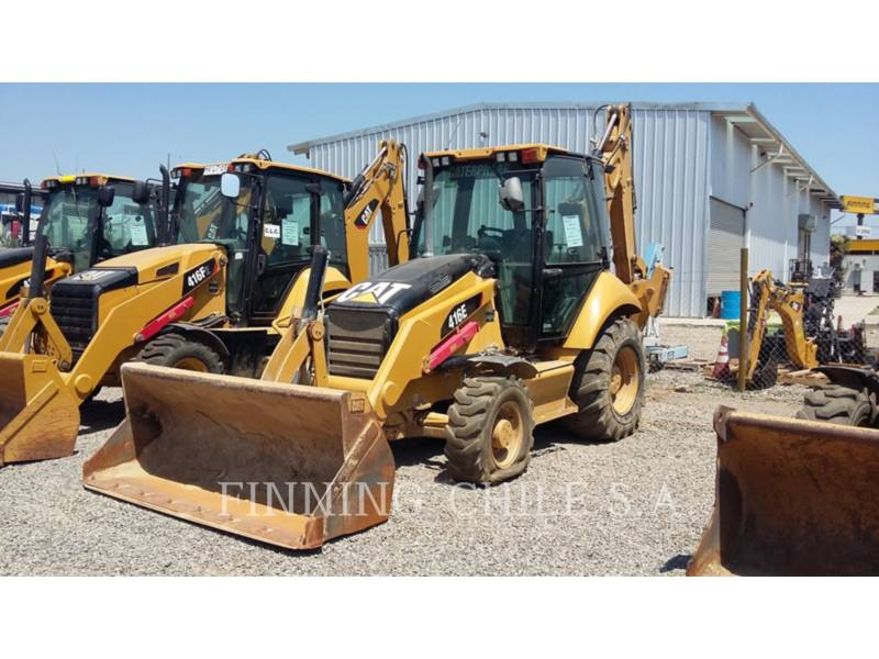 CATERPILLAR BAGGERLADER 416E equipment  photo 1