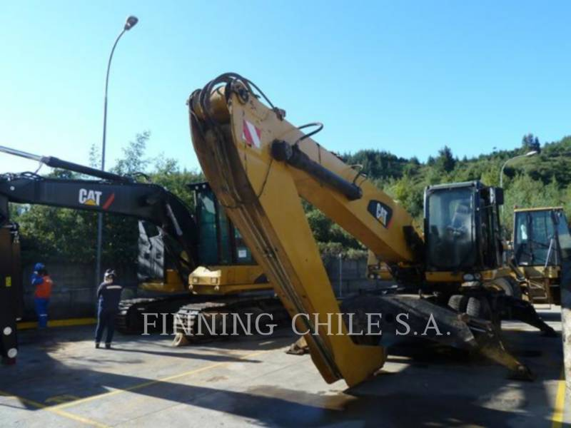 CATERPILLAR PELLES SUR PNEUS M322 D equipment  photo 2