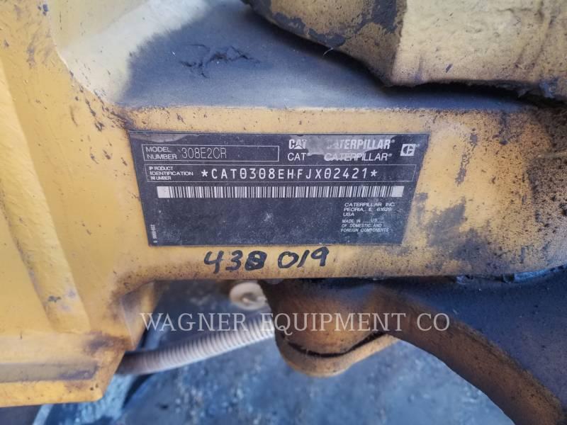 CATERPILLAR KETTEN-HYDRAULIKBAGGER 308E2CRSB equipment  photo 5