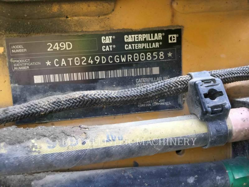 CATERPILLAR MULTI TERRAIN LOADERS 249D equipment  photo 5